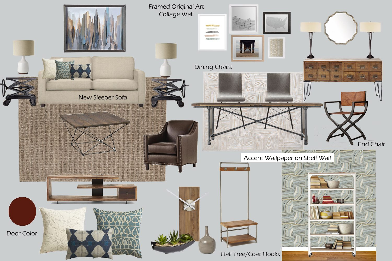 30 Inspirational Mood Boards And Tips To Create Your Own The Interior Design Student