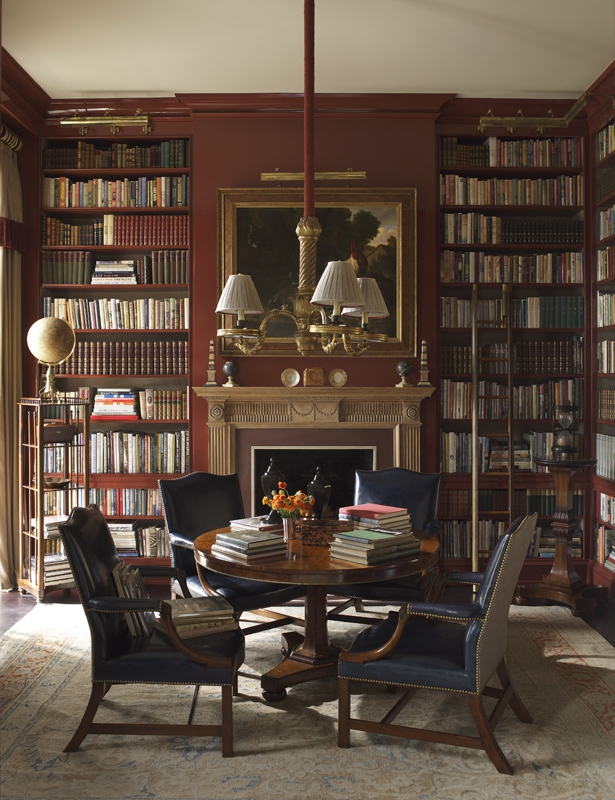 Traditional Office Library Richard Keith Langham Inc